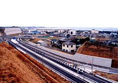 三浦縦貫道路建設工事
