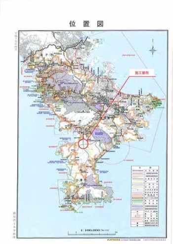 三浦縦貫道 位置図